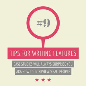 tips for writing features #9